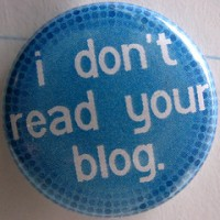 Don't Read Blog