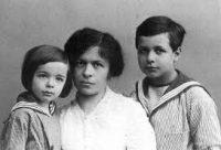 Mileva and her children