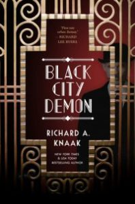 Link to Goodreads entry for Black City Demon by Richard A. Knaak