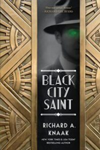Link to Goodreads entry for Black City Saint by Richard A. Knaak